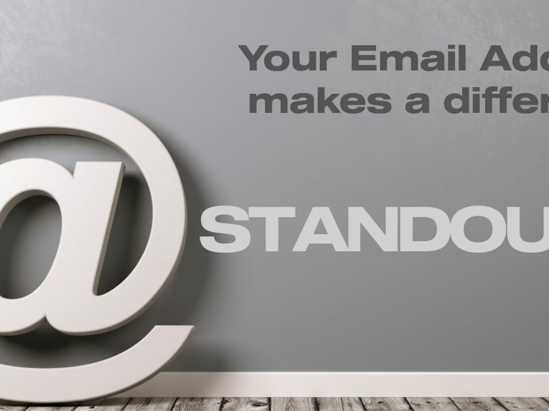 5 Tips To Make Your Email Address More Professional