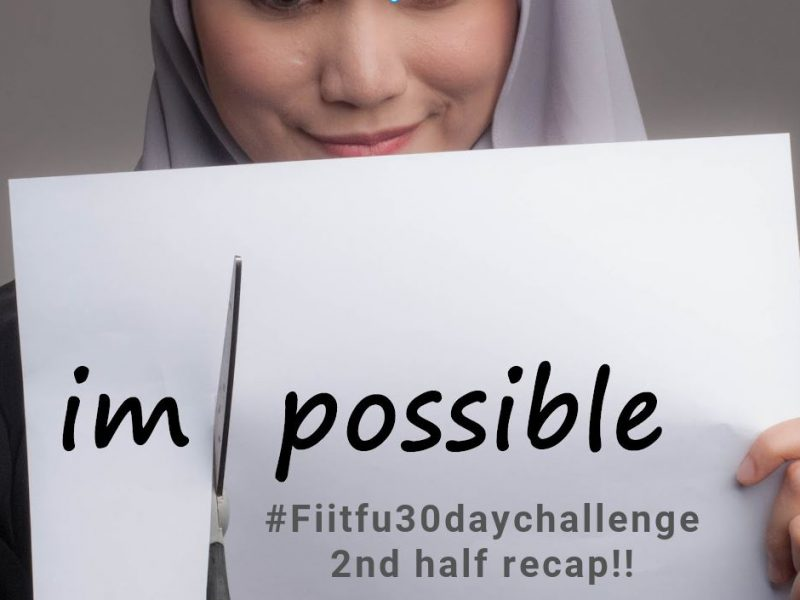 Why a 30 Day Challenge is worth doing!